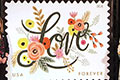 Love Flourishes Forever stamp