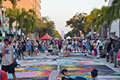 23rd Street Painting Festival in Lake Worth