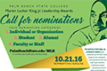 Flyer Call for Nominations for MLK 2017 Leadership Awards