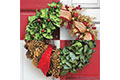 Holiday Wreath Forever® stamp